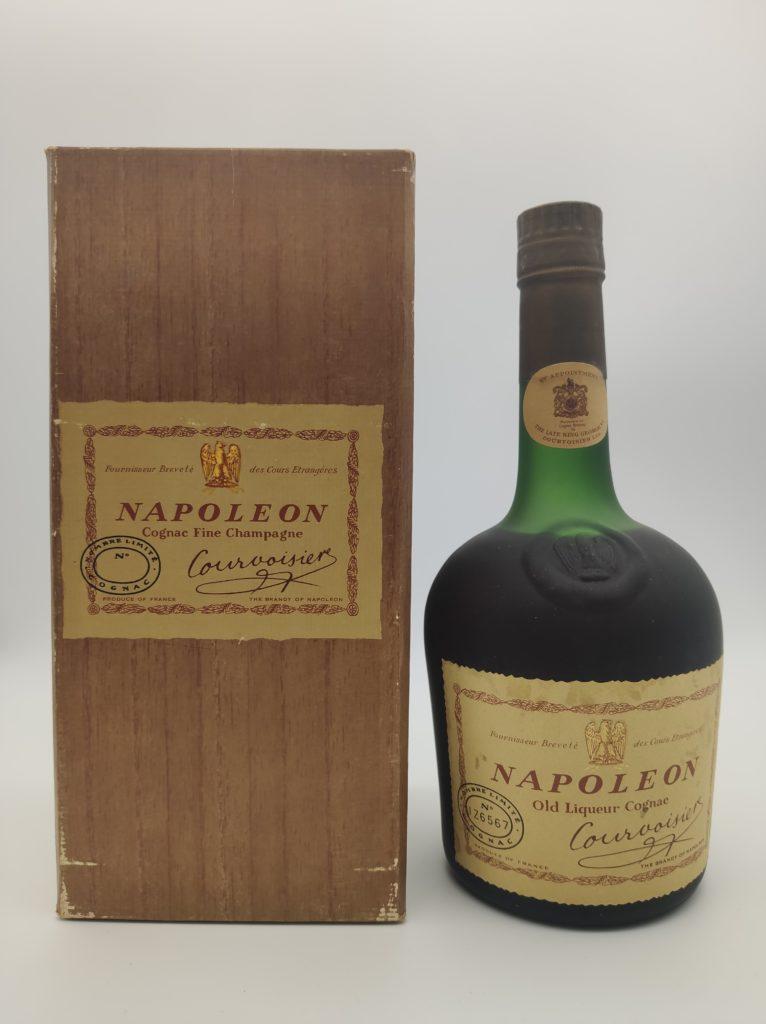 【ブランデー買取】コニャック『クルボアジェ ナポレオン 』を買い取りいたしました。お酒買取実績紹介! 1