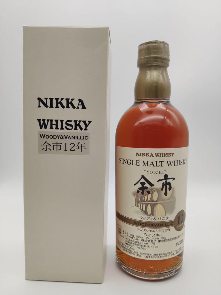 【ウイスキー買取】ニッカウイスキー終売品『余市12年』を買い取りいたしました。お酒買取実績紹介! 1