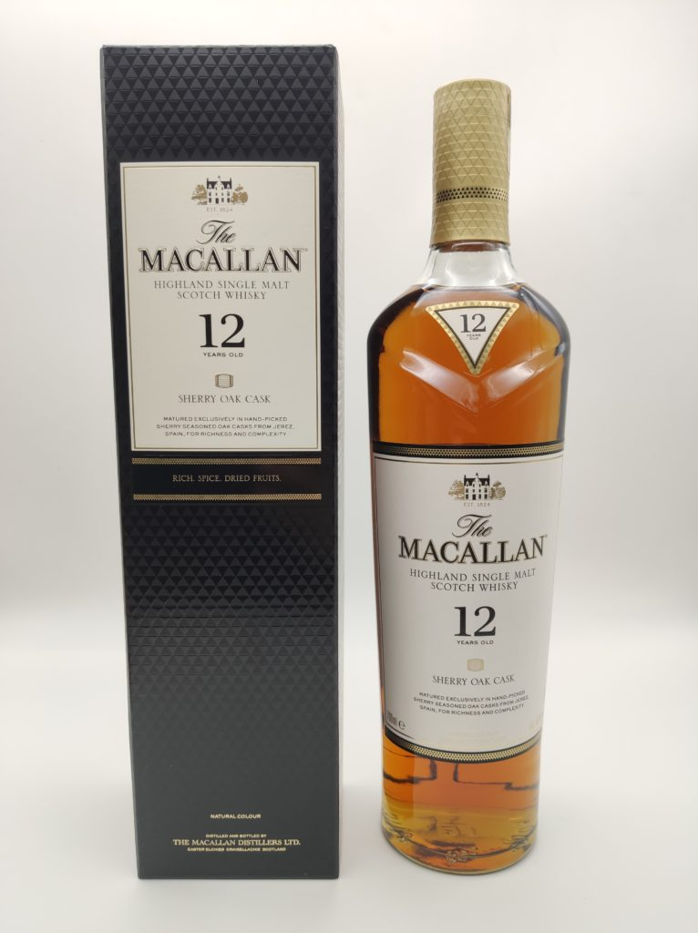 【ウイスキー買取】マッカランの象徴的華やかな味わい『ザ・マッカラン12年 シェリーオーク 』を買い取りいたしました。お酒買取実績紹介! 1