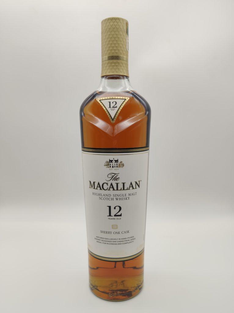 【ウイスキー買取】マッカランの象徴的華やかな味わい『ザ・マッカラン12年 シェリーオーク 』を買い取りいたしました。お酒買取実績紹介! 2